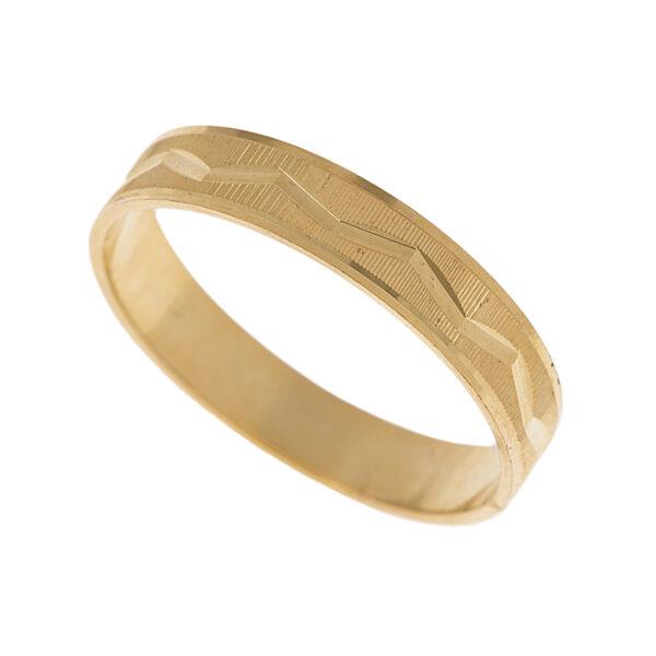 Par de Aliança em Ouro-0
