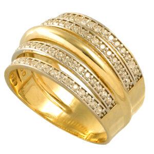 Anel Aliança Ouro Amarelo-0