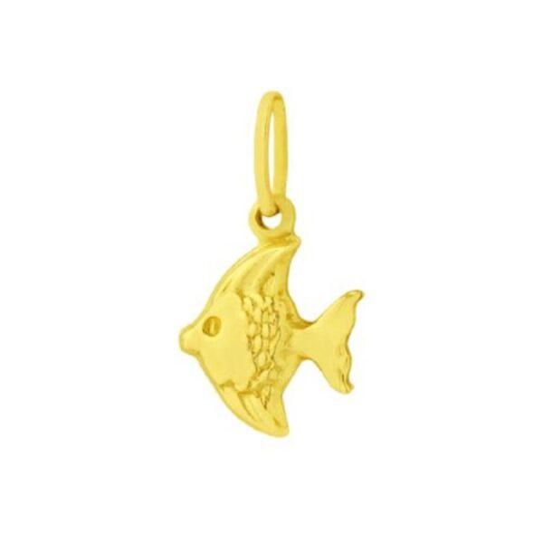 Pingente Peixinho em ouro-0