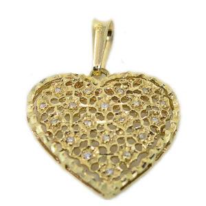 Pingente de Coração em Ouro-0