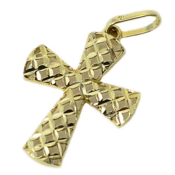 Pingente cruz em ouro-0