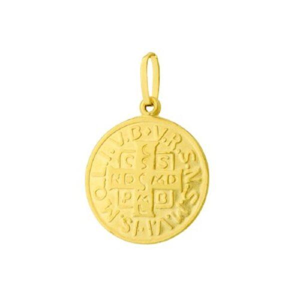 Pingente Medalha de São Bento-0