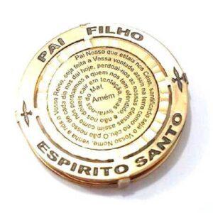 Medalha PAI, FILHO E ESPÍRITO SANTO-0