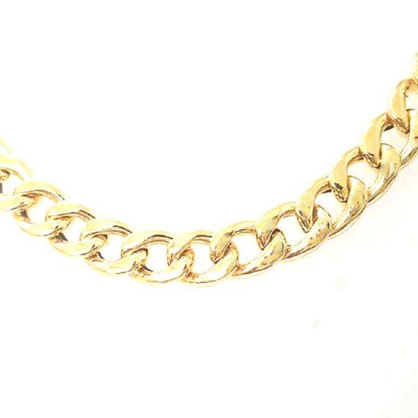 Corrente Grumet em ouro-865